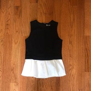 NWOT Peplum Top